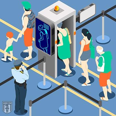 TSA Security X-ray