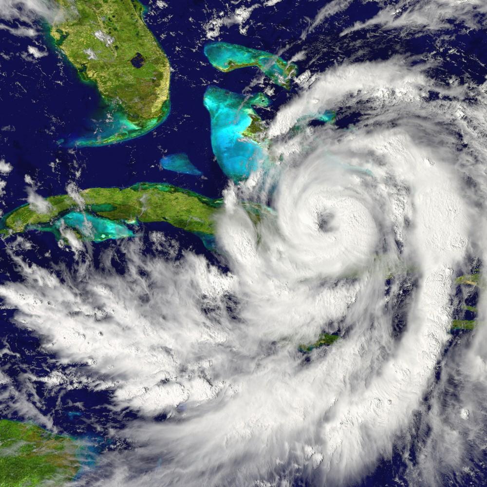 Hurricane from Satelite