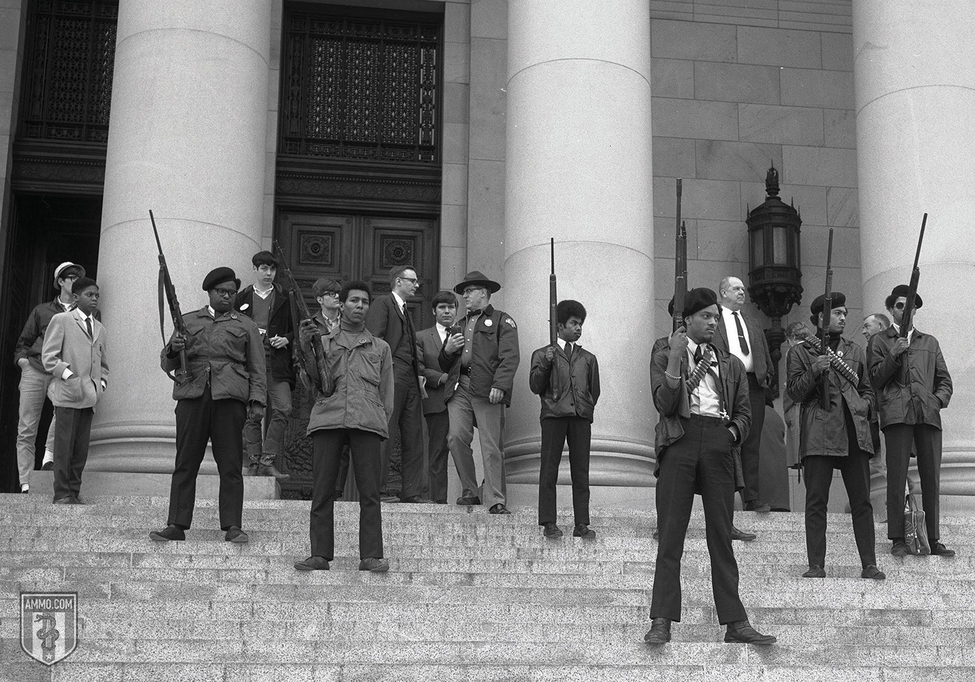 Black NRA Gun Clubs Panther Capitol March