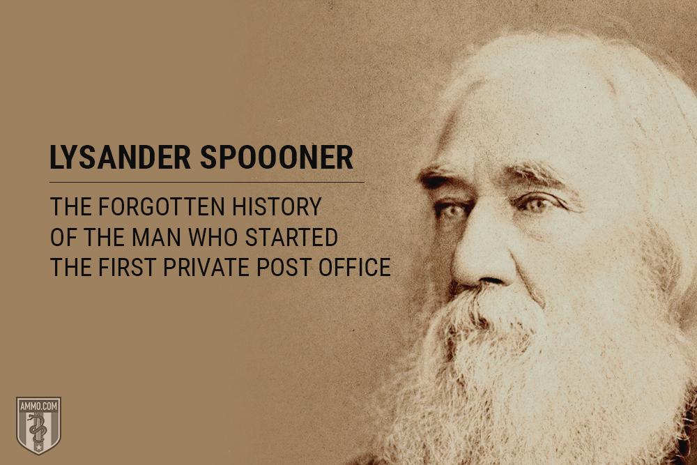 history of Lysander Spooner