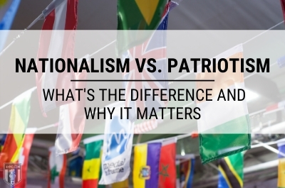 what is nationalism vs patriotism