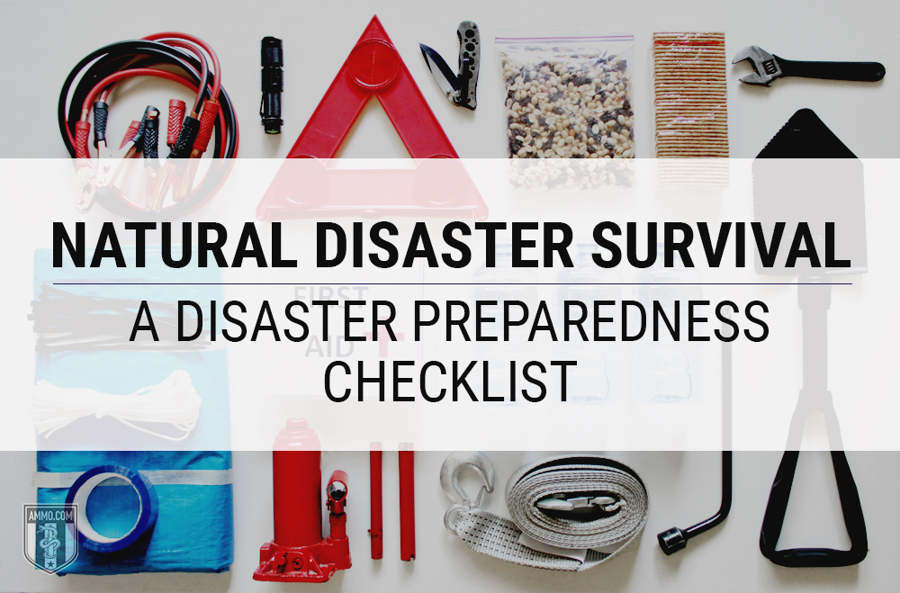 Natural Disasters: A Guide For Emergency Preparation