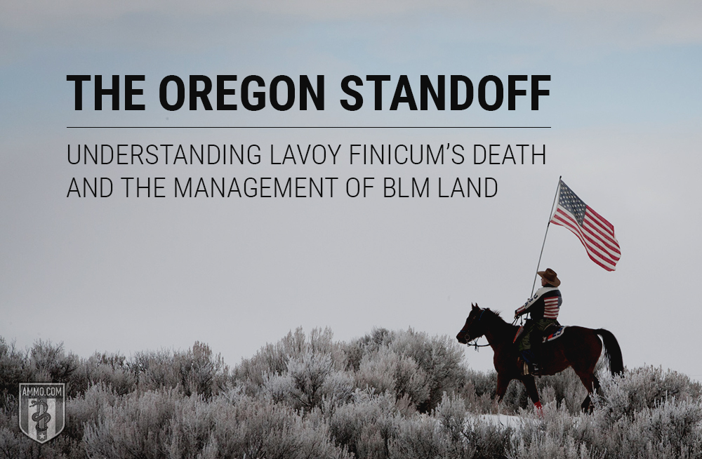 history of the Oregon standoff