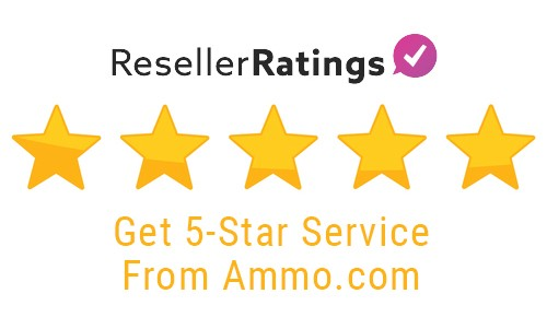 Ammo.com 5-star Reseller Ratings