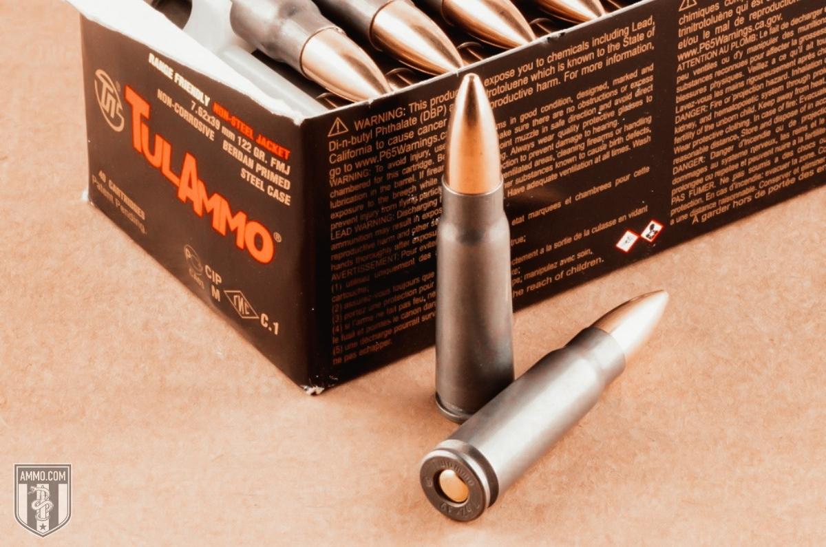 steel cased ammo