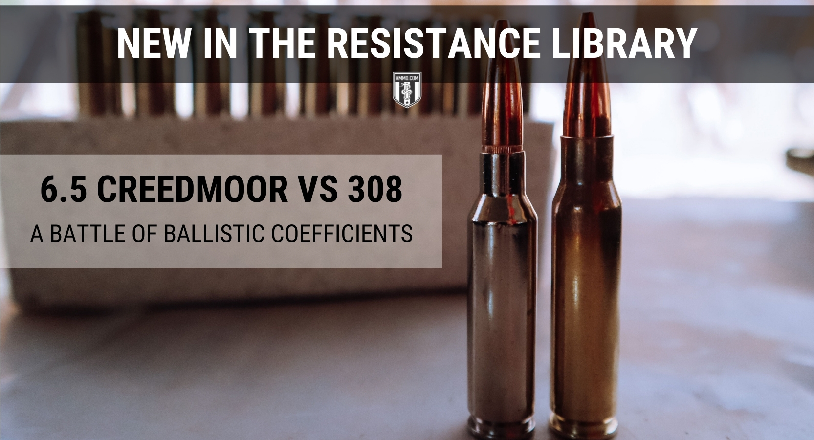 whats the difference between 65 Creedmoor vs 308 Winchester