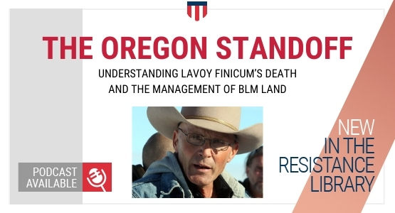 what was the oregon standoff