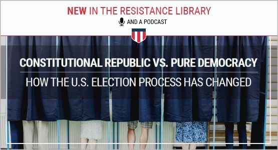 what is a republic vs democracy