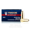 Click To Purchase This 38 Super Fiocchi Ammunition