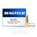 Click To Purchase This 38 Special Magtech Ammunition
