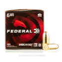 Click To Purchase This 45 Auto Federal Ammunition