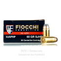 Click To Purchase This 32 ACP Fiocchi Ammunition