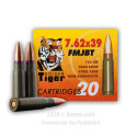 Click To Purchase This 7.62x39 Golden Tiger Ammunition