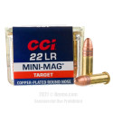 Click To Purchase This 22 LR CCI Ammunition