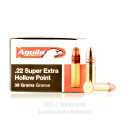Click To Purchase This 22 LR Aguila Ammunition