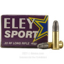Click To Purchase This 22 LR Eley Ammunition