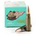 Click To Purchase This 7.62x39 Brown Bear Ammunition