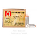 Click To Purchase This 38 Special Hornady Ammunition