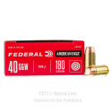 Click To Purchase This 40 Cal Federal Ammunition