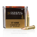 Click To Purchase This 17 HMR Federal Ammunition