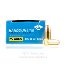 Click To Purchase This 25 ACP Prvi Partizan Ammunition