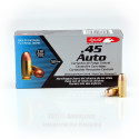 Click To Purchase This 45 Auto Aguila Ammunition