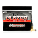 Click To Purchase This 22 LR Blazer Ammunition