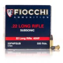 Click To Purchase This 22 LR Fiocchi Ammunition