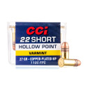 Click To Purchase This 22 Short CCI Ammunition