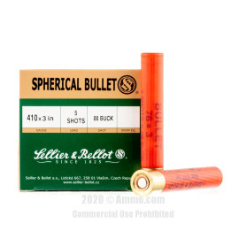 Image For 25 Rounds Of #00 Buck 410 Sellier and Bellot Ammunition
