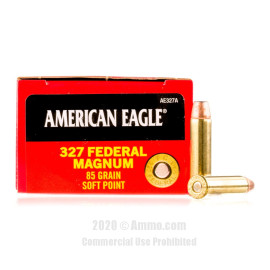 Image For 50 Rounds Of 85 Grain SP Boxer Brass 327 Fed Mag Federal Ammunition