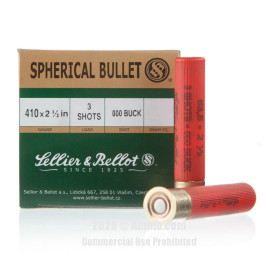 Image For 500 Rounds Of #000 Buck 410 Sellier and Bellot Ammunition