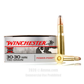 Image For 20 Rounds Of 150 Grain PP Boxer Brass 30-30 Winchester Ammunition
