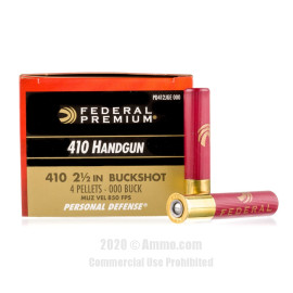 Image For 20 Rounds Of #000 Buck 410 Federal Ammunition