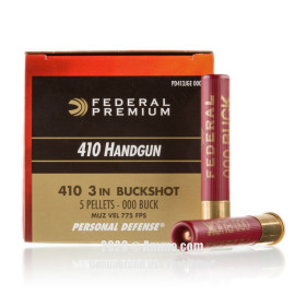 Image For 20 Rounds Of 4/5 oz. #000 Buck 410 Federal Ammunition