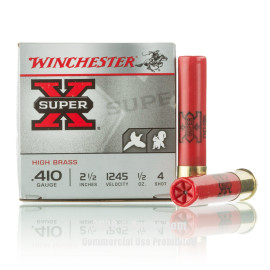 Image For 25 Rounds Of 1/2 oz. #4 Shot 410 Winchester Ammunition