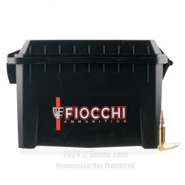 Image For 180 Rounds Of 150 Grain FMJ Boxer Brass 308 Win Fiocchi Ammunition