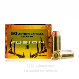 Image For 20 Rounds Of 300 Grain SP Boxer Brass 50 Action Express Federal Ammunition