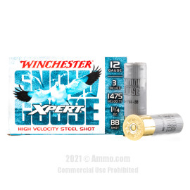 Image of Winchester Xpert Snow Goose 12 Gauge Ammo - 25 Rounds of 1-1/4 oz. BB Steel Shot Ammunition