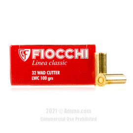 Image of Fiocchi 32 S&W Long Ammo - 50 Rounds of 100 Grain LWC Ammunition