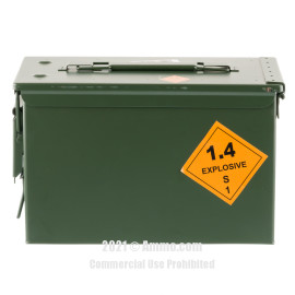 Image of OMPC 5.56x45 Ammo - 800 Rounds of 62 Grain FMJ SS109 Ammunition in Ammo Can
