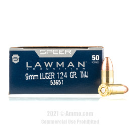 Image of Speer 9mm Ammo - 1000 Rounds of 124 Grain TMJ Ammunition