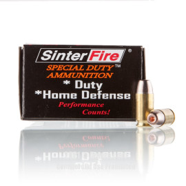 Image of SinterFire Special Duty 380 ACP Ammo - 20 Rounds of 75 Grain HP Ammunition