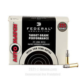 Image of Federal 22 LR Ammo - 325 Rounds of 40 Grain LRN Ammunition
