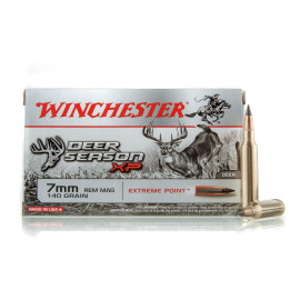 Image For 20 Rounds Of 140 Grain Polymer Tipped Boxer Brass 7mm Rem Magnum Winchester Ammunition