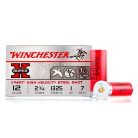 Image For 25 Rounds Of 1 oz. #7 Shot 12 Gauge Winchester Ammunition
