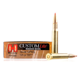 Image For 20 Rounds Of 125 Grain SST Boxer Brass 30-06 Hornady Ammunition