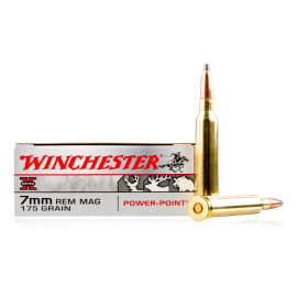 Image For 20 Rounds Of 175 Grain PP Boxer Brass 7mm Rem Magnum Winchester Ammunition