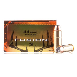 Image For 20 Rounds Of 240 Grain Fusion Boxer Brass 44 Magnum Federal Ammunition
