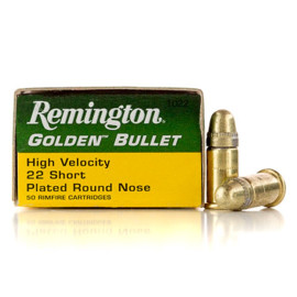 Image For 50 Rounds Of 29 Grain CPRN Rimfire Brass 22 Short Remington Ammunition